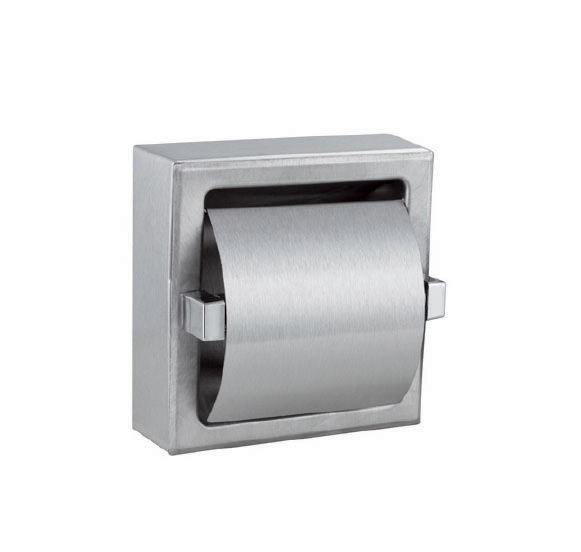 6351 – Одинарный  держатель для туалетной бумаги