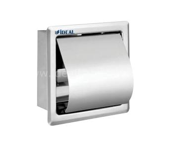 6354 Одинарный держатель для туалетной бумаги (встроенный)