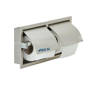 6364 Двойной держатель для туалетной бумаги (встроенный)