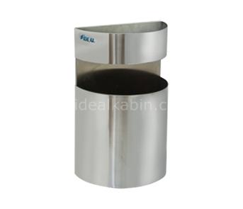 6461 – Урна для мусора с пепельницей, тип D, настенное крепление