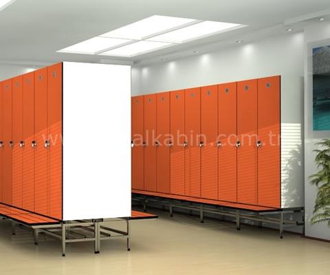 Шкаф из компактного ламината